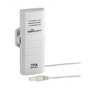 WEATHER HUB - Предавател за температура с водоустойчив кабелен сензор - 30.3301.02 на най-добра цена