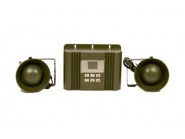Звуков електронен апарат (Птицегон) за прогонване на вредни птици (Врабчета, Пчелояди, Врани, Свраки, Косове, Скорци) до 33.3 декара