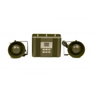 Звуков електронен апарат за прогонване и защита от диво прасе (глигани), елени, сърни, зайци, лисици и др. до 33.3 дка на най-добра цена