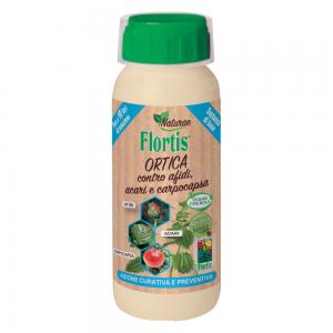 КОПРИВА Натурален концентрат против листни въшки, акари и ябълков червей/молец (каприкапса) Flortis Naturae, 500 мл. на най-добра цена