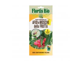 Жълт холотропен капан с лепило за Листни въшки и Плодови мушици, Flortis Bio – 5 бр.