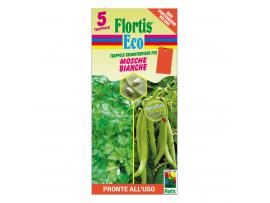 Оранжев холотропен капан с лепило за белокрилки, Flortis Bio – 5 бр.