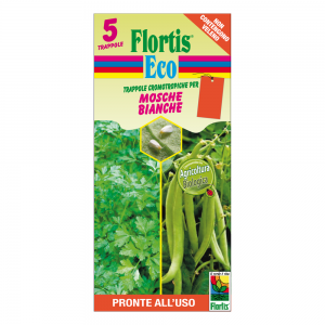 Оранжев холотропен капан с лепило за белокрилки, Flortis Bio – 5 бр. на най-добра цена