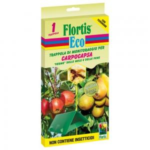 Капан с феромонова уловка за ябълков плодов червей / ябълков молец, Flortis Eco на най-добра цена