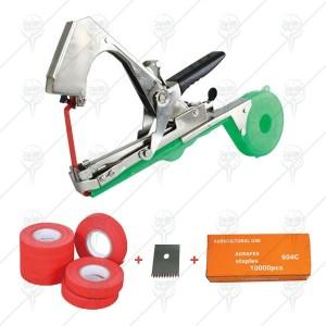 Комплект Клещи за връзване на лозя, ленти, резервно ножче и телчета на най-добра цена