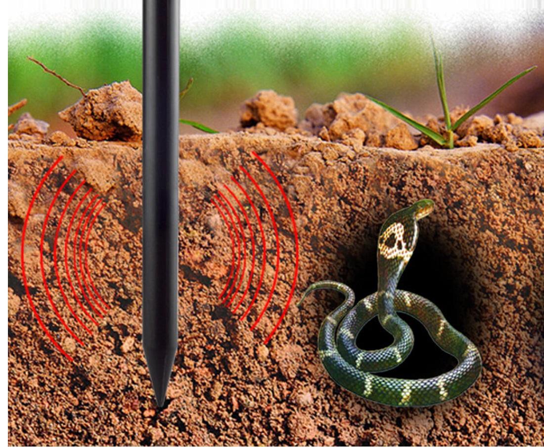 Ефикасно прогонване на влечуги чрез уред против змии. Вземи изгодно