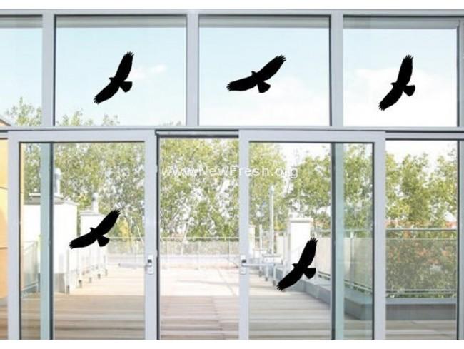 Стикери защита от птици 1