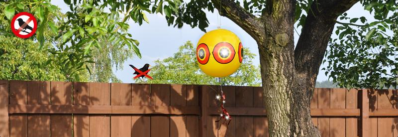 Плашило за прогонване на птици - супер ефективен и екологичен метод против птици.